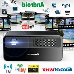 7000 Lumens Wifi 3D Home Theater Mini DLP Wireless Video Pro