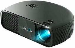 720P HD LED Movie Projector, with 3000:1 Contrast Support HD