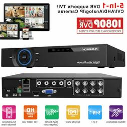 FLOUREON 8CH 1080P AHD TVI DVR Outdoor 3000TVL 2.0MP Securit