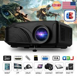Mini Portable 5000 Lumens 1080P FHD 3D LED Projector Phone P