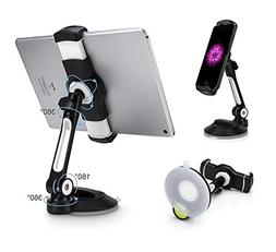 AboveTEK Suction Cup Cell Phone Holder, Large Sticky Pad Tab