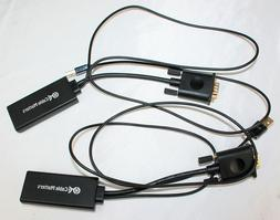 Cable Matters VGA to HDMI Converter  with Audio Support