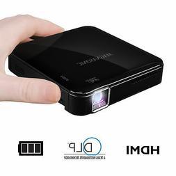 Magnasonic Mini Portable Pico Video Projector, HDMI, Battery