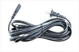 OMNIHIL  AC Power Cord Compatible with Blusmart LED-9400 Min