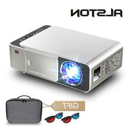 ALSTON T6 full hd led <font><b>projector</b></font> 4k 3500