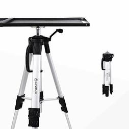 VANKYO Aluminum Tripod Projector Stand, Adjustable Laptop St