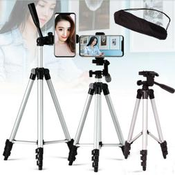 Aluminum Tripod Stand Mount Adjust Portable For Mini Project