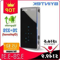 Android 7.1 OS HD Portable Micro WIFI Bluetooth Mini LED Pro