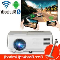 Android Bluetooth Home Theater Projector Airplay HD 1080p HD