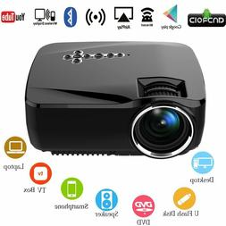Android WiFi LED Projector, Portable Multimedia 1200 Lumens