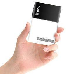 Artlii Mini Video Projector, Pocket Projector,Pico Proyector
