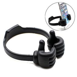Aurora® Universal Flexible Thumb Smartphone Stand Holder,Ta