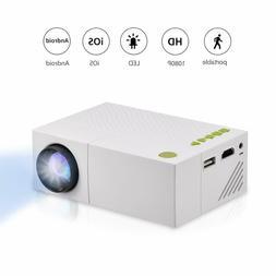 BK4FF1 Fosa Mini Projector Portable 1080P LED Projector for