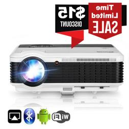 Bluetooth Projector Wireless LED Android Bluetooth Proyector