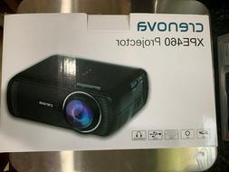 BRAND NEW   CRENOVA Projector XPE460 WHITE