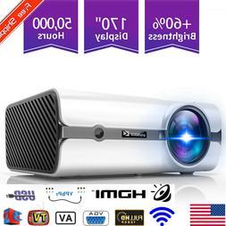 ViviMage C460 Mini Movie Projector 2500Lux 1080P For iPhone