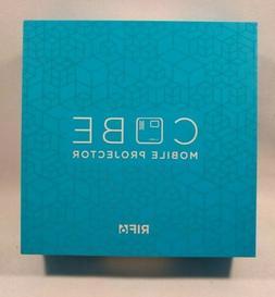 RIF6 CUBE Portable Mini Projector - Silver