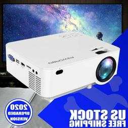DBPOWER L12 LCD Mini Movie Projector for TV Laptop iPhone An