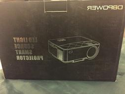 DBPOWER led light source smart projector