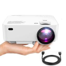 """DBPOWER Mini HD LED Movie Projector 1080p Projector  176"""""""