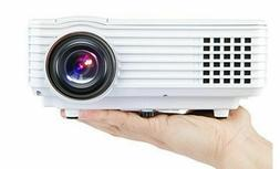 DBPOWER Mini LED PROJECTOR RD-805 USB Portable DHMI Multimed