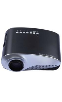 DBPOWER Multimedia Portable Mini LED Projector USB SD VGA HD