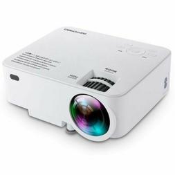 DBPOWER T20 1800 Lumens LCD Mini Projector, Multimedia Home