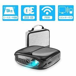 ELEPHAS DLP mini 3D projector small 2600lm 1080P full HD-com