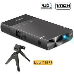 DLP mini projector for iPhone, ELEPHAS 100 Ansi Lumen Pico V