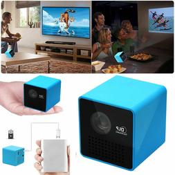 DLP Wifi LED Mini Pocket Projector 1080P FHD Home Theater Mu