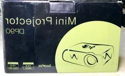 DeepLee DP90 Mini LED Projector HD 1080 1600 Lumens Phone PC