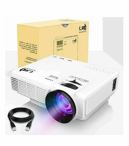 """DR.J 4Inch Mini Projector with 170"""" Display - 40,000 Hour LE"""