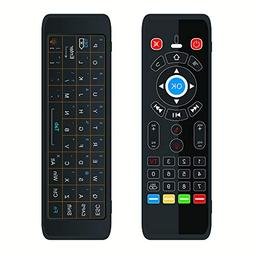 Docooler Dual Side Remote, T16 Backlight 2.4G Air Mouse Wire