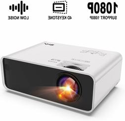 Artlii Enjoy Portable Mini Projector w/ ±45° Digital 4D Ke