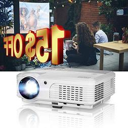 EUG Portable Multimedia Mini LED LCD Gaming Projector with U