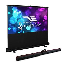 Elite Screens ezCinema 2, Manual Floor Pull Up with Scissor
