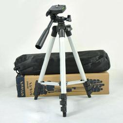 Flexible Portable Aluminum Tripod Stand & Bag For Compact Ca