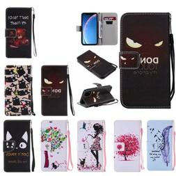 Flip PU Leather Card Wallet Case Cover For Samsung Galaxy S9