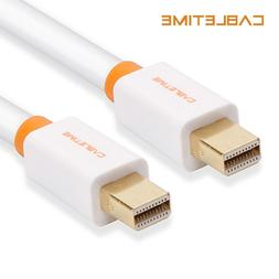 Cabletime <font><b>Mini</b></font> DisplayPort Cable Display