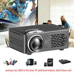 Full HD 1080P 3D Mini Projector Multimedia Home Theater USB