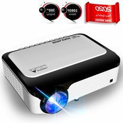 full hd 1080p 6000 lumens portable mini