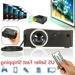 Full HD 1080P Home Theater LED Mini Multimedia Projector Cin