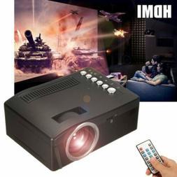 Full HD 1080P LED Mini Multimedia Projector Home Theater Cin