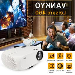 VANKYO Full HD 1080P Mini LED Projector 4000 Lux 170'' Displ