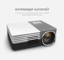 GM50 Home Theater Cinema Mini Pico Portable LED Projector Wi
