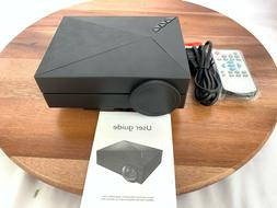 GM60 Video Projector Mini LED With 800x480p 1000 Lumens Mult