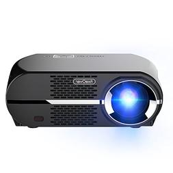 FIXEOVER GP100 Video Projector,LCD 1080P Full-HD Level Image