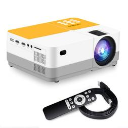 H3 Projector Video Projector 3600 Lumens Native 720P LCD Min