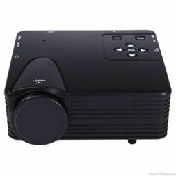 H80 Portable Mini 640x480 Pixels Full HD LED Projector Video