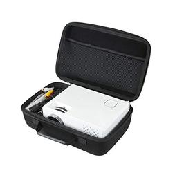 Hard EVA Travel Case for DBPOWER Mini Projector Portable LED